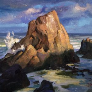 Oregon Coast Plein Air; Painting Landscapes from Life in Oil